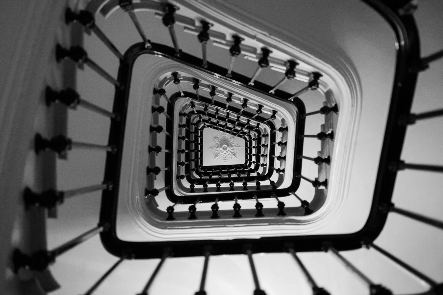 Black And White Paris Wall Art In Famous Black & White Photos: Paris Photography – Taking The Stairs In (View 2 of 15)