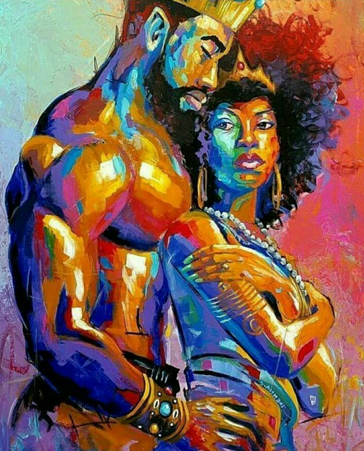 Black Love Wall Art In Fashionable Black Love (View 5 of 15)