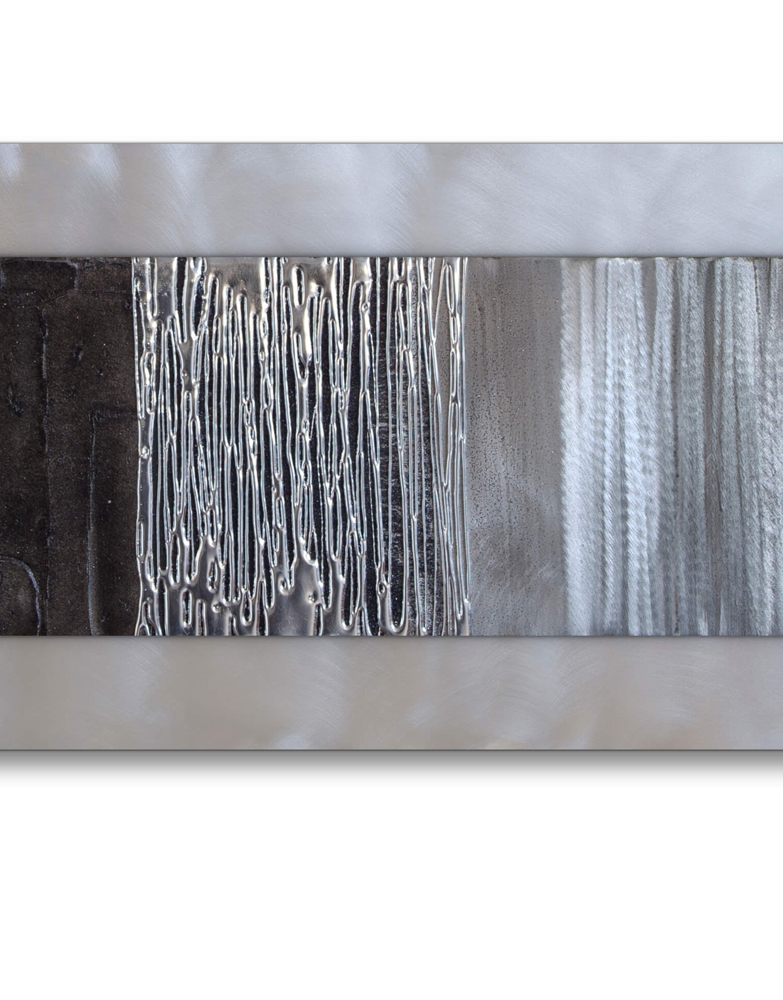 Featured Photo of Black Silver Wall Art