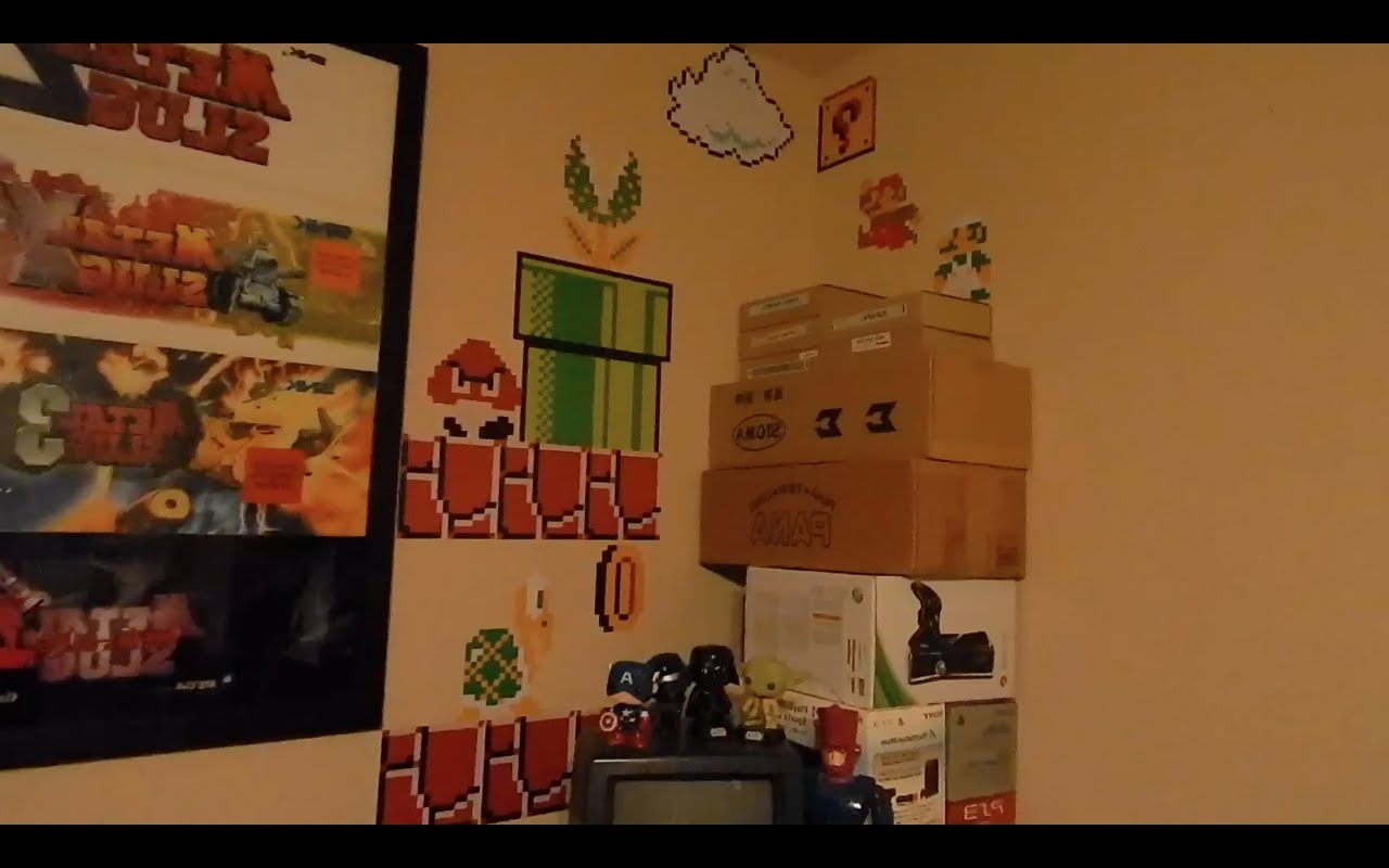 Blik Wall Art In Famous Super Mario Bros. Blik Wall Decals U2013 Youtube  (Gallery