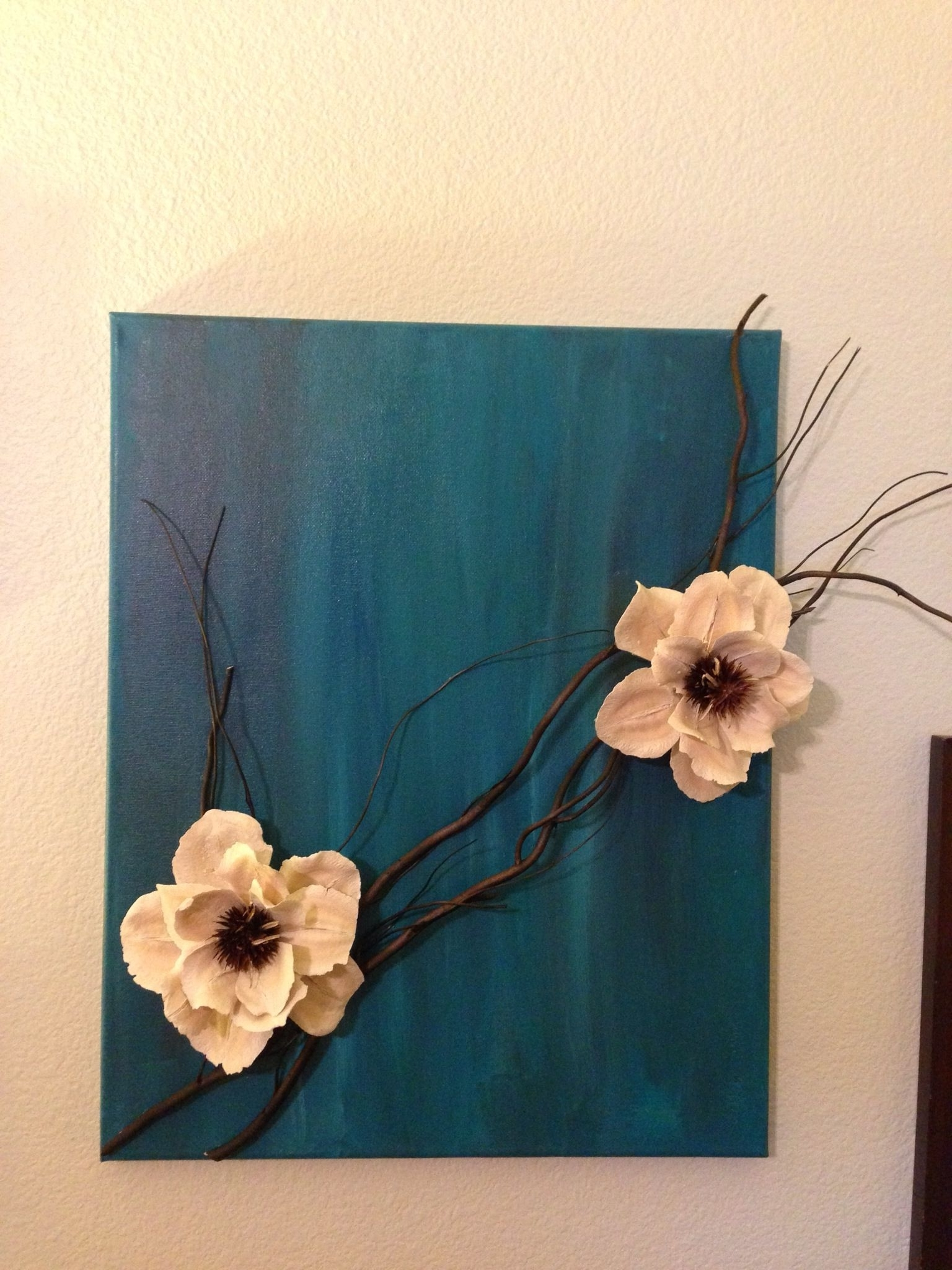Blossom White 3D Wall Art Intended For Popular Http://media Cache Ec (View 4 of 15)