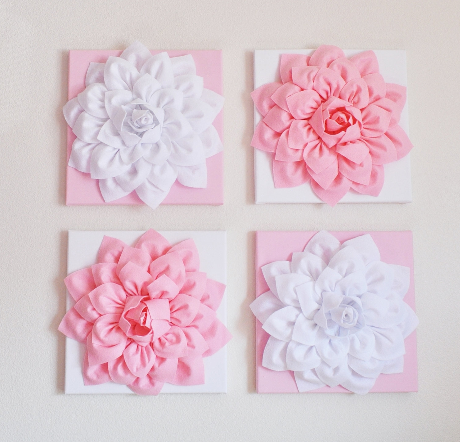 Blossom White 3D Wall Art Intended For Well Known Isabella Ceramic Flower Blossom Wall Art Carnation Multi Pastel (View 5 of 15)