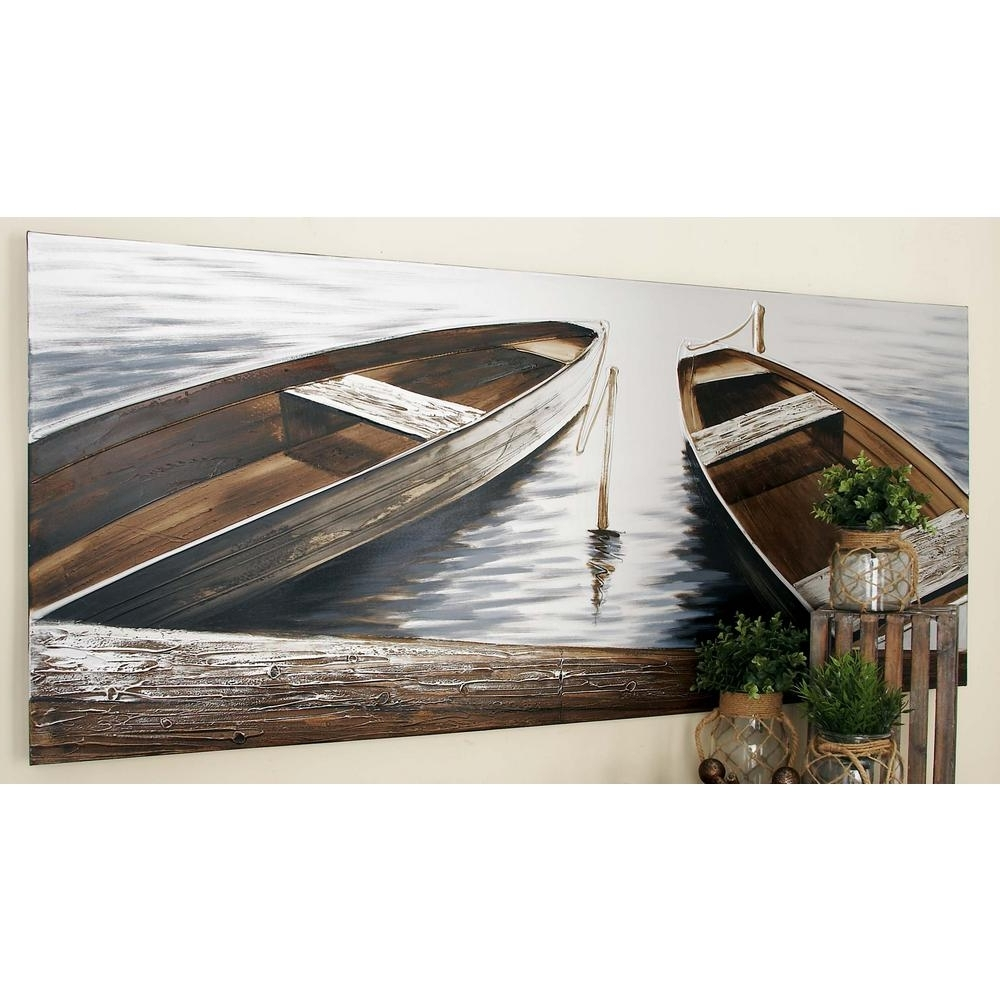 Boat Wall Art In Well Known 32 In. X 71 In (View 4 of 15)