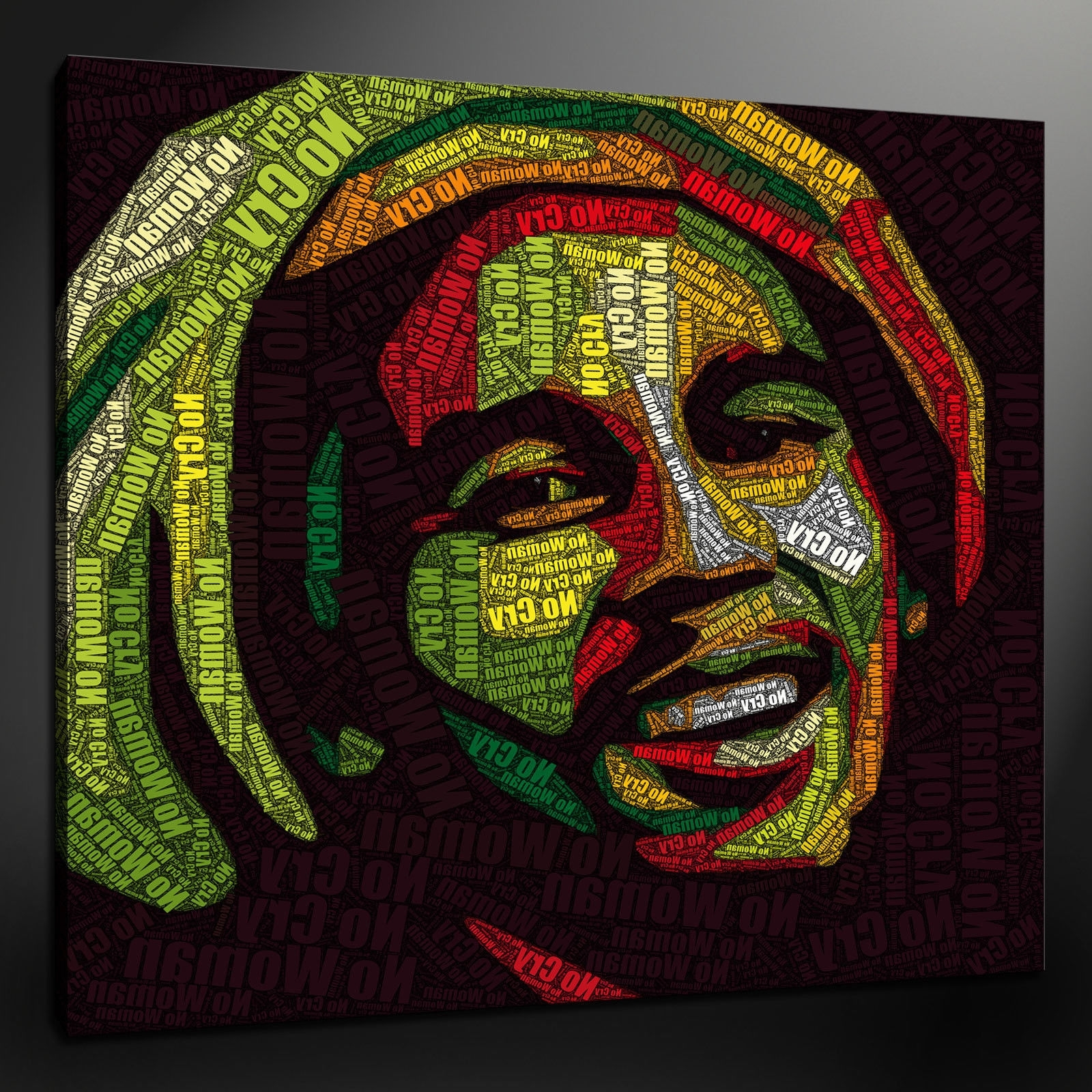 Bob Marley Canvas Wall Art With Well Known Canvas Print Pictures. High Quality, Handmade, Free Next Day Delivery (View 5 of 15)