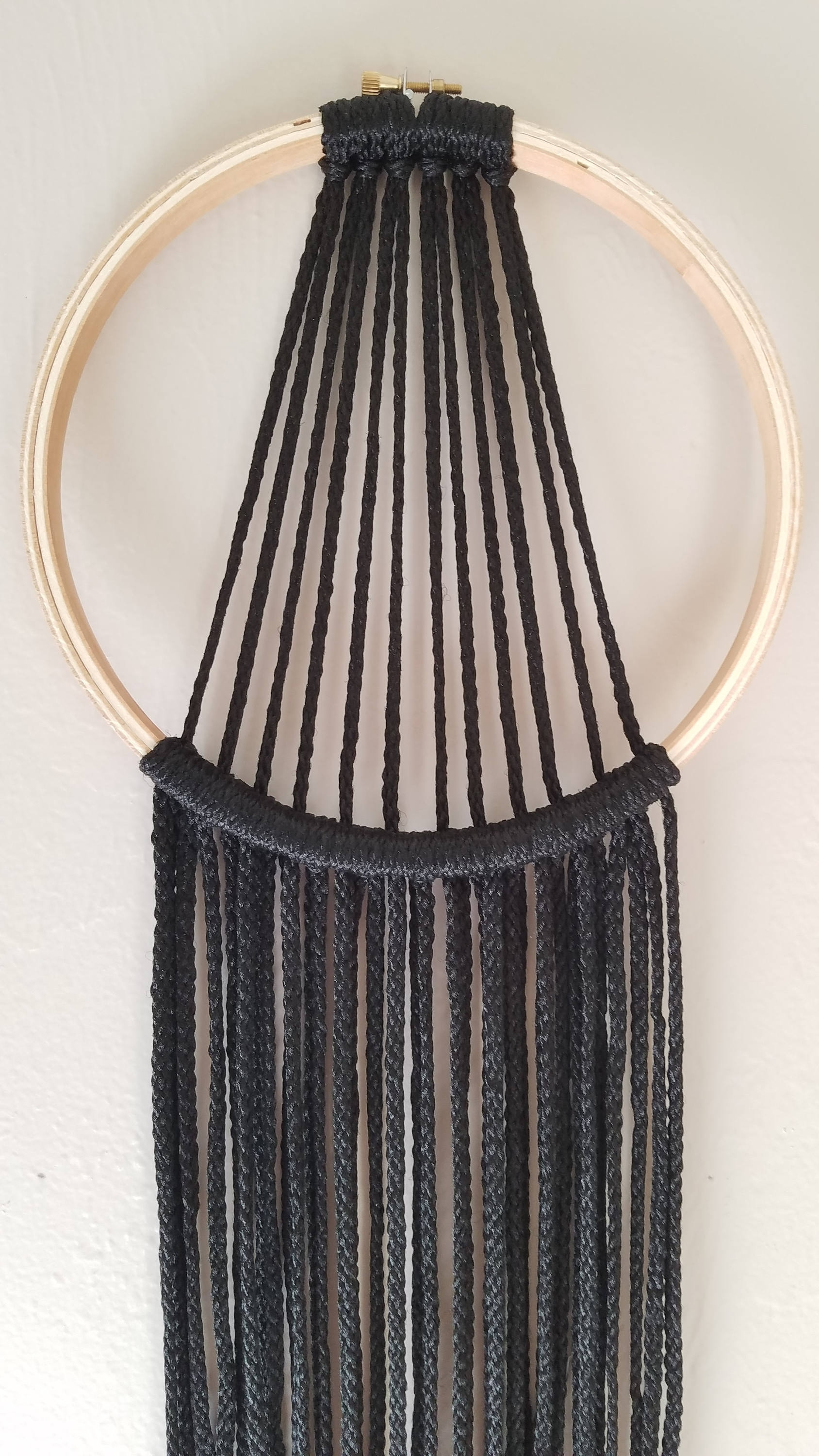 Boho Chic Wall Art Regarding Most Recent Minimalist Modern Macrame, Wall Hanging, Boho Chic, Wall Decor (View 3 of 15)