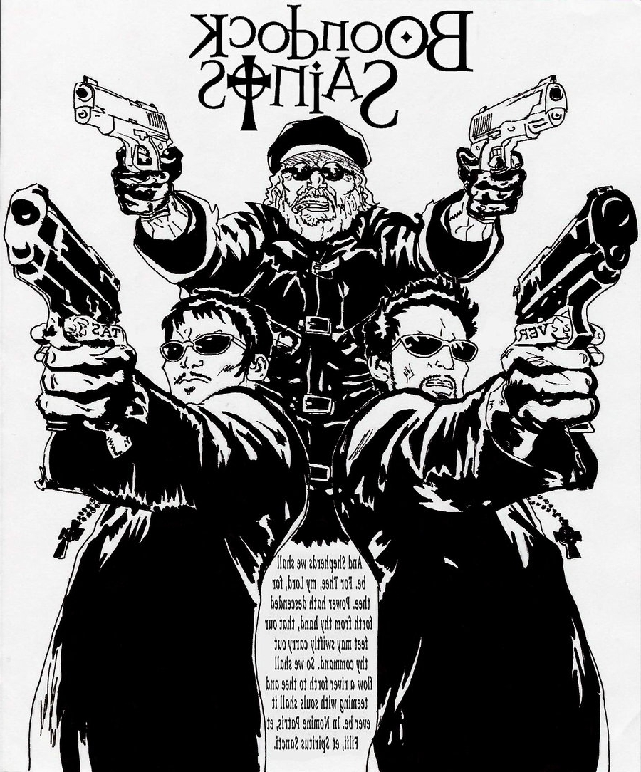 Boondock Saints Wall Art Within Most Current Index Of Wp Content Uploads