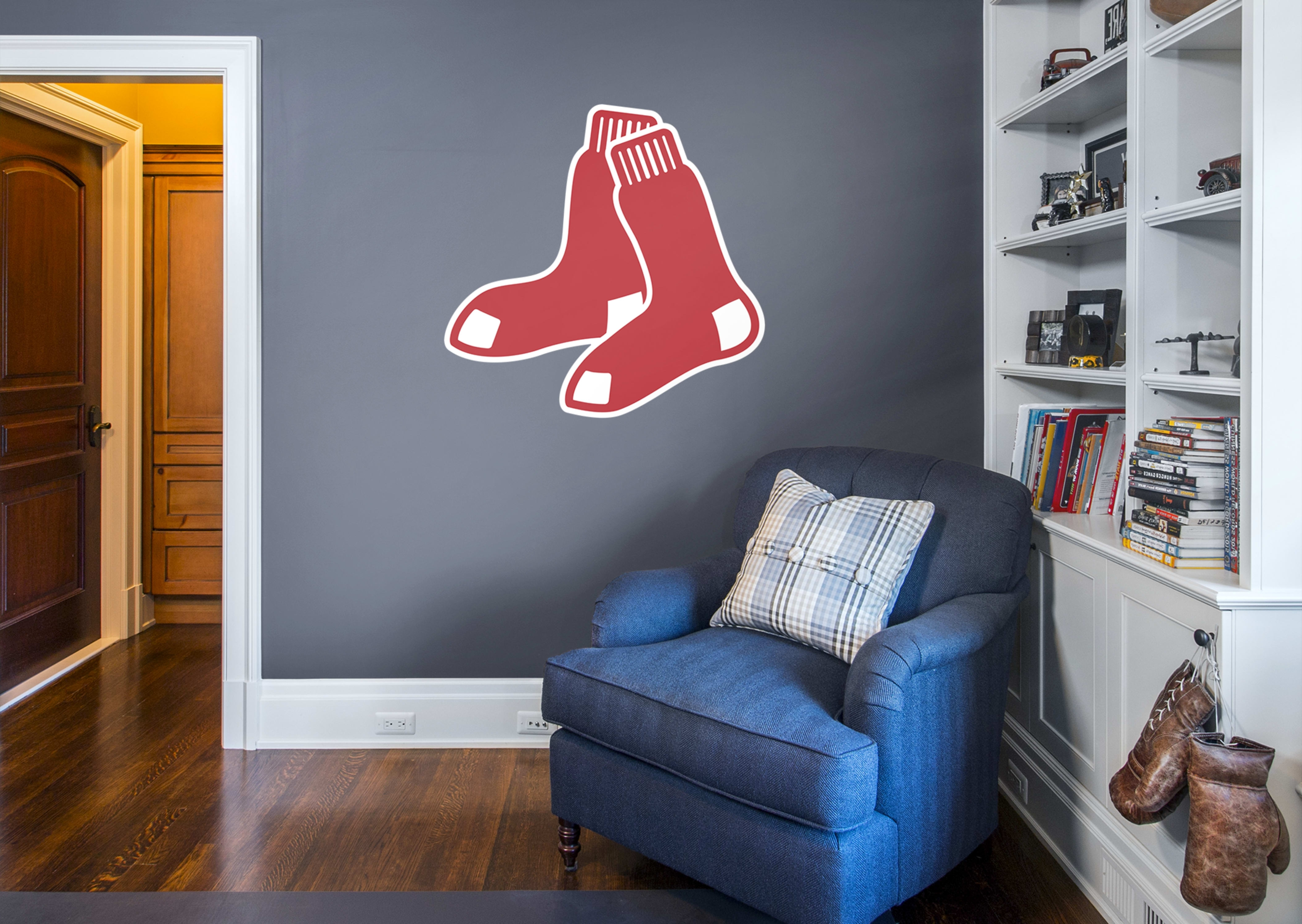 Boston Red Sox Logo Wall Decal (View 8 of 15)