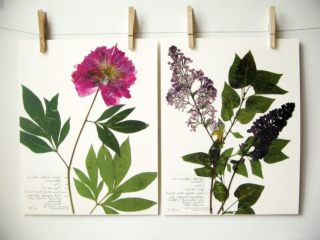 Botanical Prints Etsy Regarding Current Best Of Etsy: Botanical Printsday Three Creations – The Neo Trad (View 8 of 15)