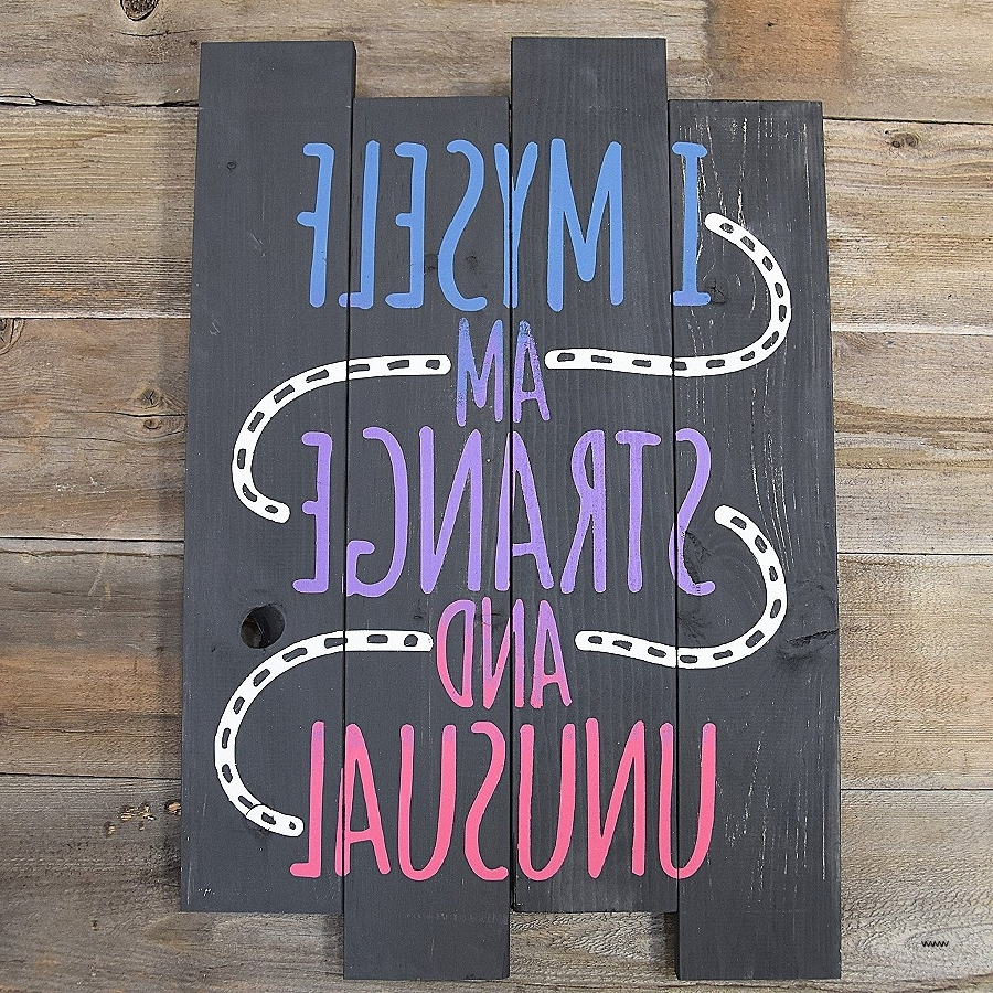 "Box Signs Wall Art Awesome Love You More"" Rustic Wall Decor Box Regarding Trendy Box Signs Wall Art (View 2 of 15)"