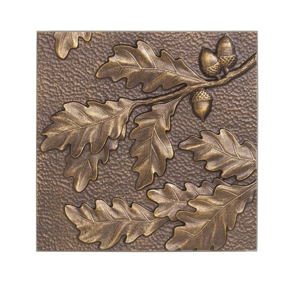 Bronze/copper Metallic – Dimensional Wall Art – Art – The Home Depot With 2017 Bronze Tree Wall Art (View 9 of 15)
