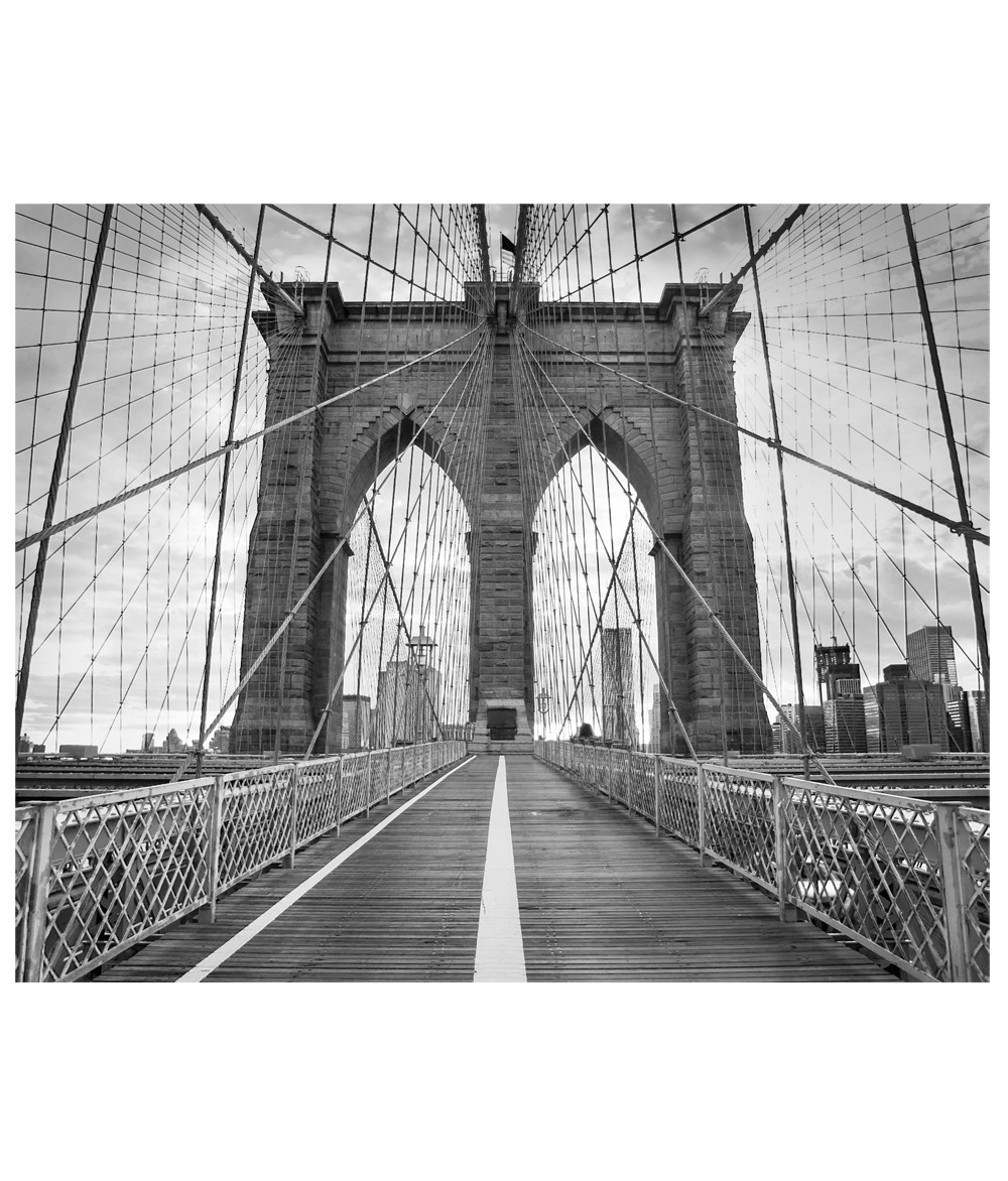Brooklyn Bridge Photograph Wall Art Regarding 2017 Brooklyn Bridge Wall Decals (View 2 of 15)
