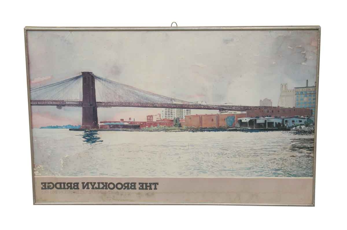 Brooklyn Bridge Poster (View 2 of 15)