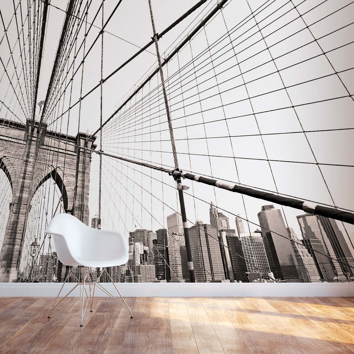 Showing Gallery of Brooklyn Bridge Wall Decals View 1 of 15 Photos