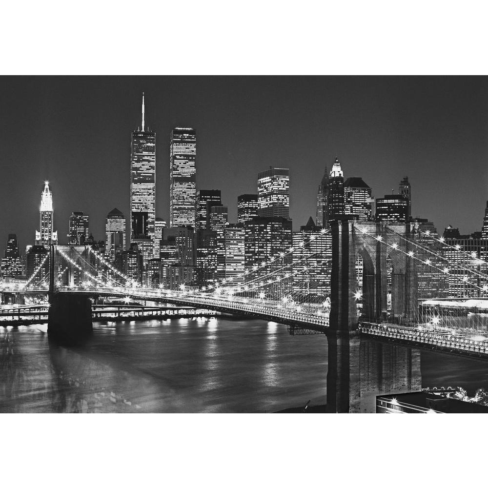 Brooklyn Bridge Wall Decals With Regard To Best And Newest Ideal Decor 100 In. X 144 In (View 7 of 15)