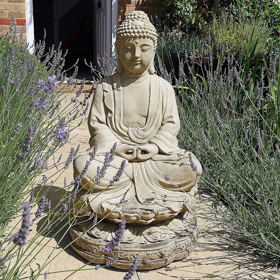 Buddha Outdoor Wall Art In Best And Newest Buddha Outdoor Wall Art New Garden Sculptures Meditation Buddha (View 3 of 15)