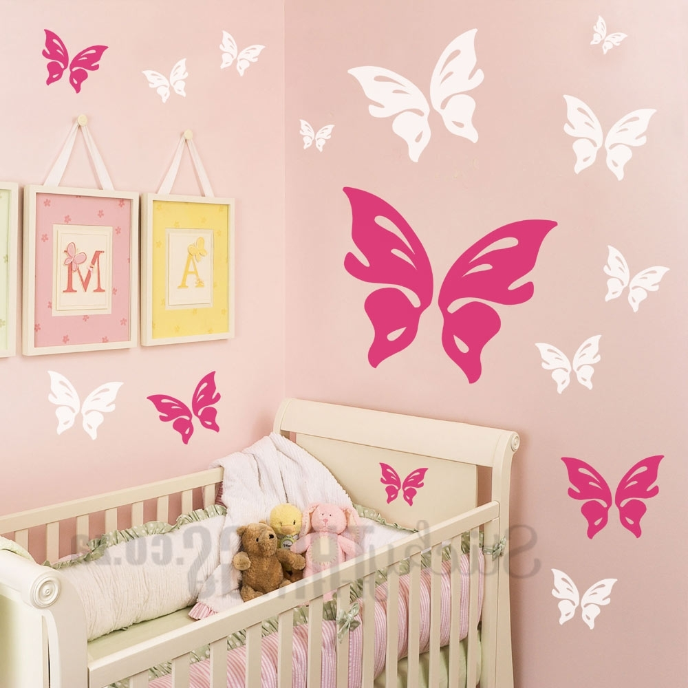 Butterfly Wall Decal – Stickythings.co (View 11 of 15)