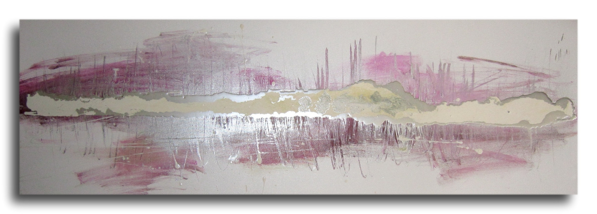 Buy Huge Abstract Canvas With Regard To Most Popular Pink Abstract Wall Art (View 6 of 15)