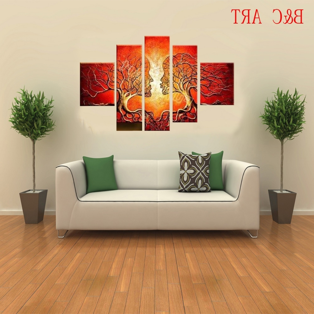 Canvas Oil Painting Wholesale, Oil Painting Suppliers – Alibaba For Trendy Custom Canvas Art With Words (View 5 of 15)