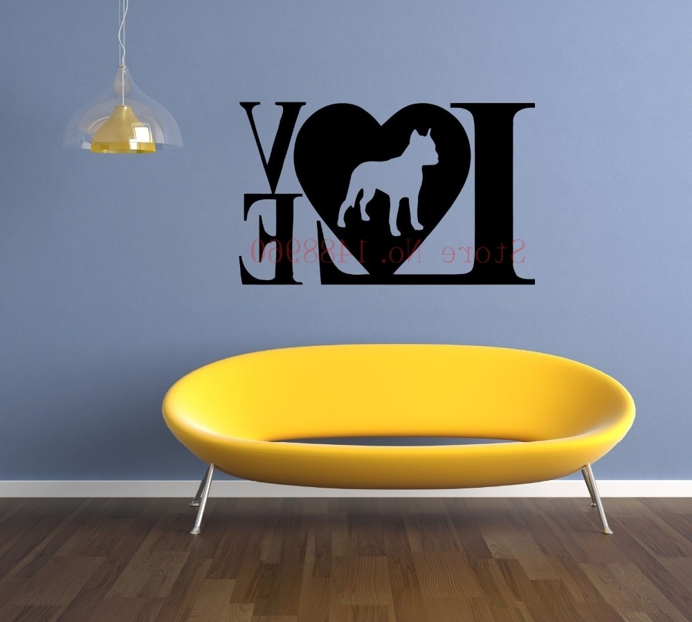 Captivating 90+ Pitbull Wall Art Design Ideas Of Wall (View 11 of 15)