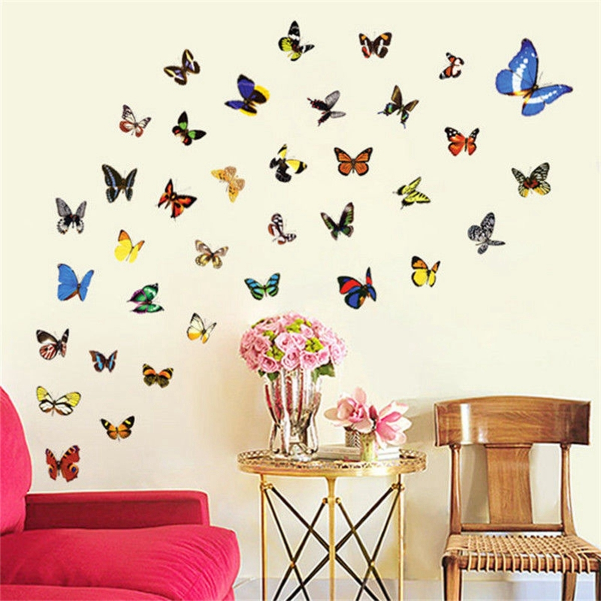 Ceramic Butterfly Wall Art Inside Best And Newest Buy Art Ceramic Tiles And Get Free Shipping On Aliexpress (View 3 of 15)