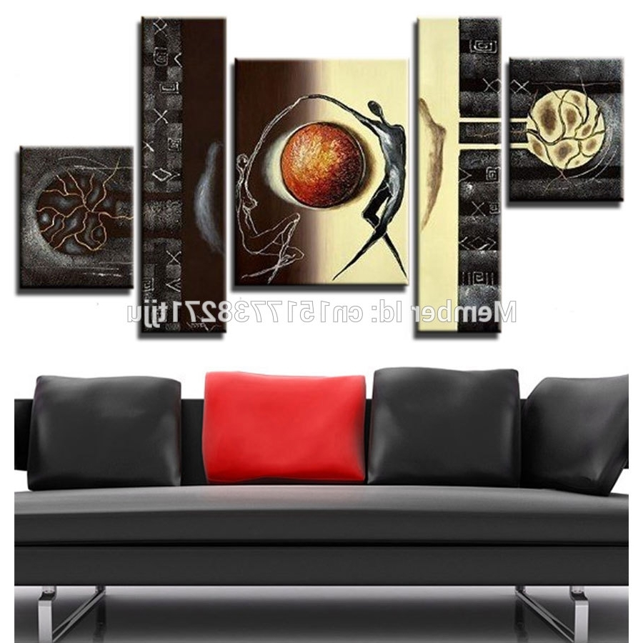 Cheap Wall Art Canvas Sets Throughout Favorite Buy Large Canvas Art Cheap And Get Free Shipping On Aliexpress (View 5 of 15)