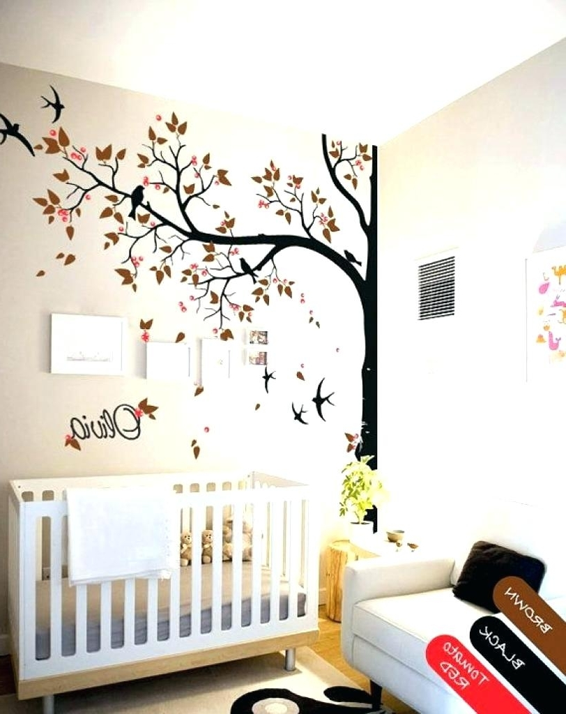 Cherry Blossom Vinyl Wall Art Inside Recent Cherry Blossom Tree Vinyl Wall Decal Aspen Tree Wall Decal Sticker (View 4 of 15)