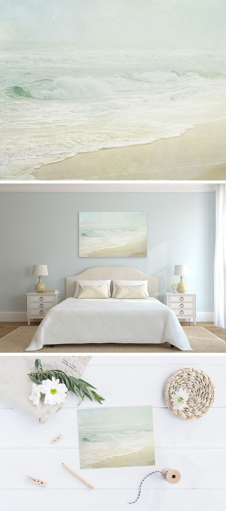 Chic Coastal Wall Art Canvas Crate Barrel Australia Ideas Decor Uk For Most  Current Coastal Wall