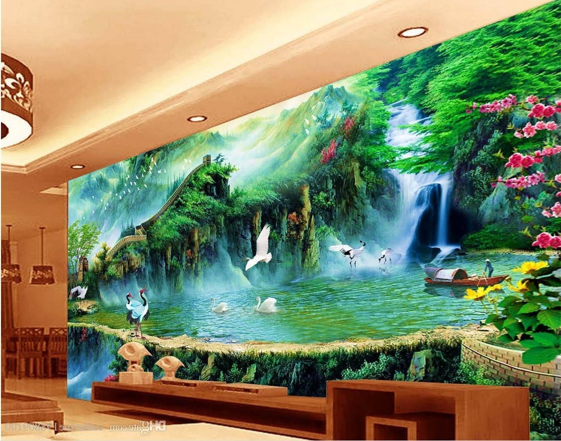 Featured Photo of Great Wall Of China 3D Wall Art