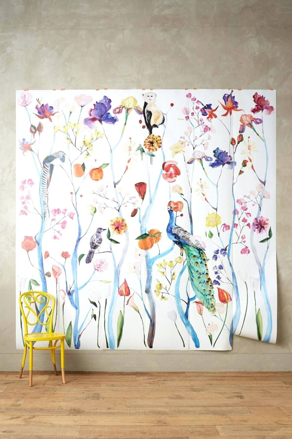Chinoiserie Wall Art In Best And Newest Wall Arts ~ Chinoiserie Wall Art Garden Chinoiserie Mural (View 4 of 15)