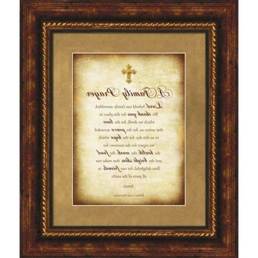 Christian Framed Wall Art For Best And Newest Frame Christian Framed Wall Art Religious Wall Art (View 3 of 15)