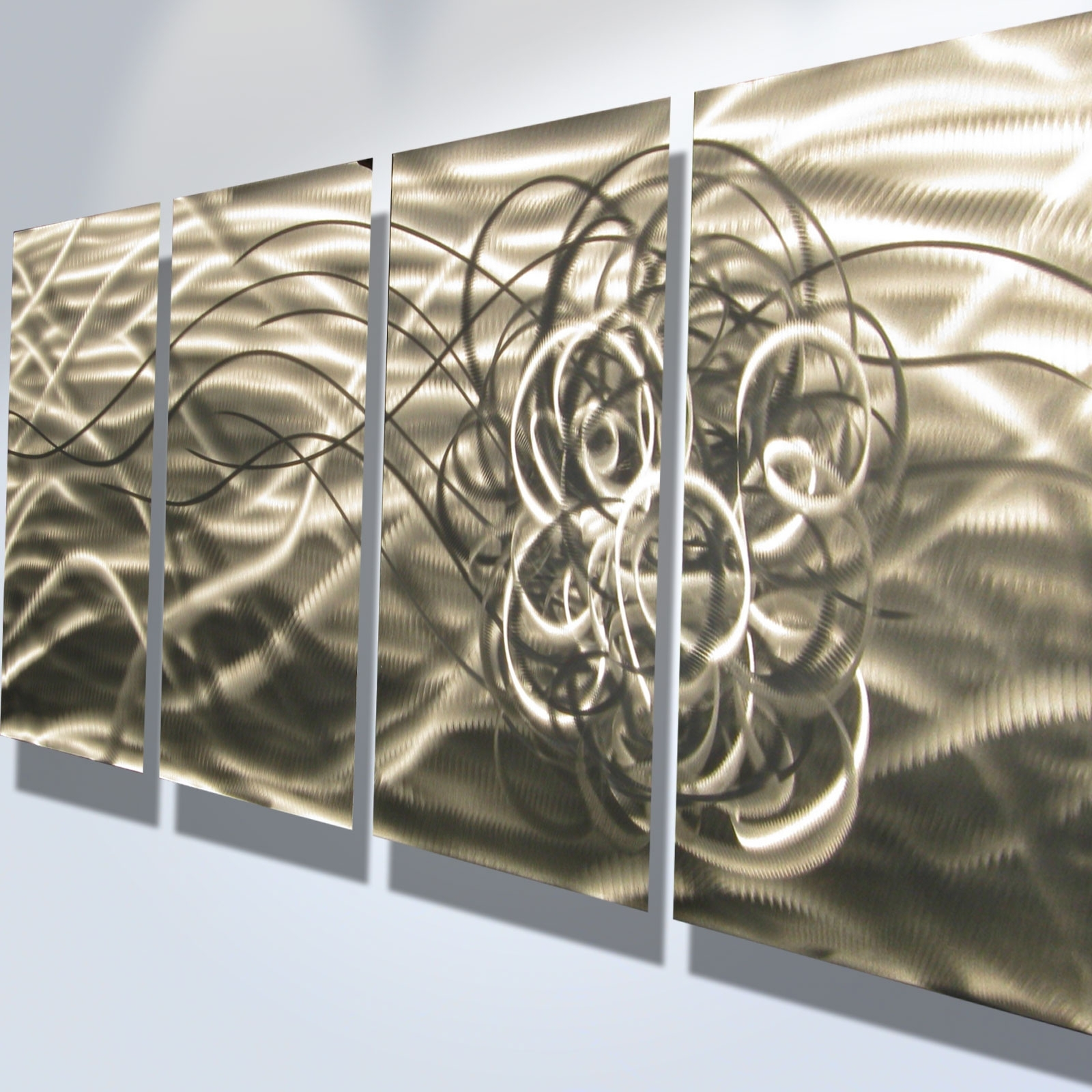 Classy 10+ Abstract Metal Wall Art Design Inspiration Of Best 25+ With Regard To Preferred Kindred Abstract Metal Wall Art (View 4 of 15)