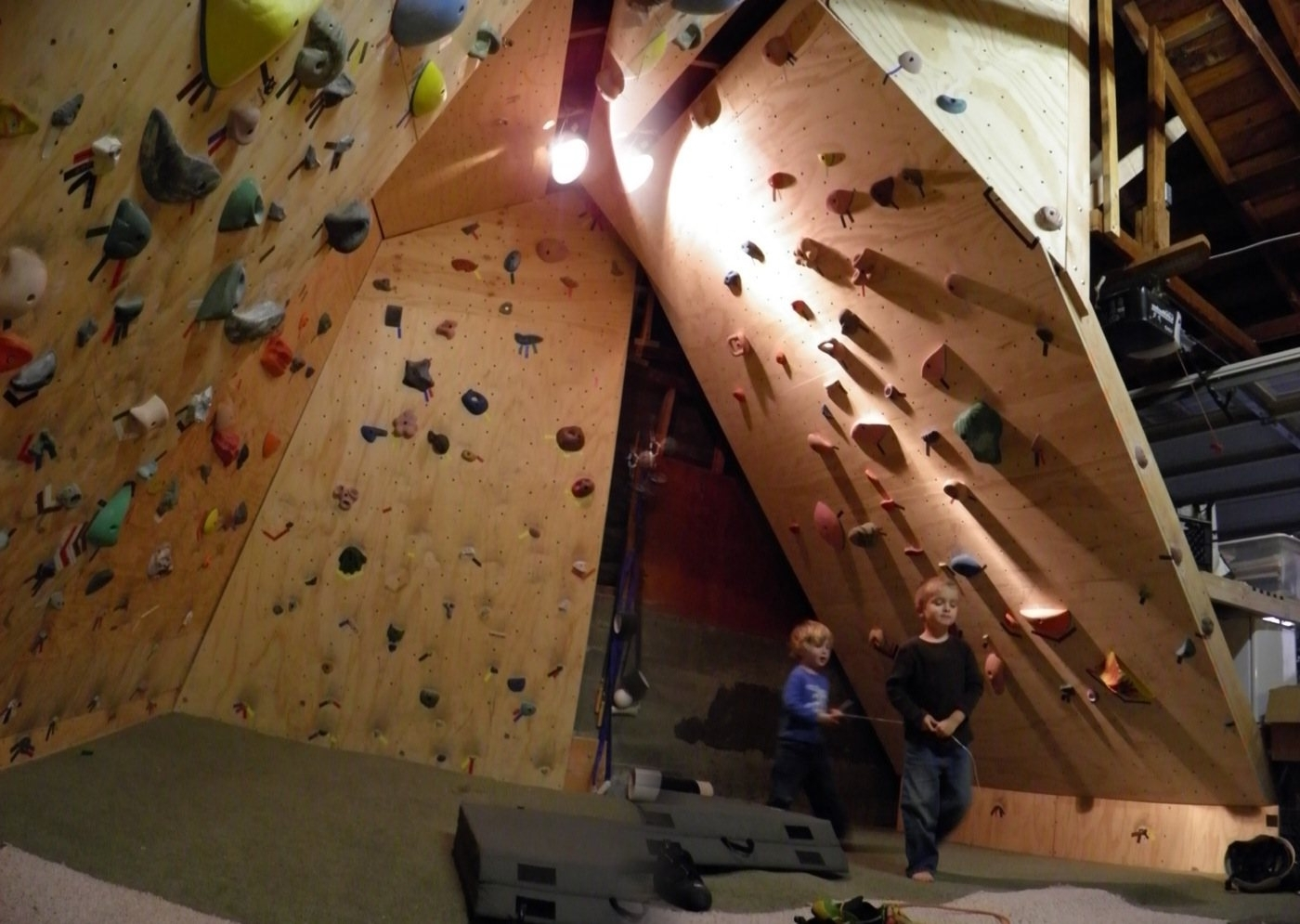 Climbing With Well Liked Home Bouldering Wall Design (View 2 of 15)