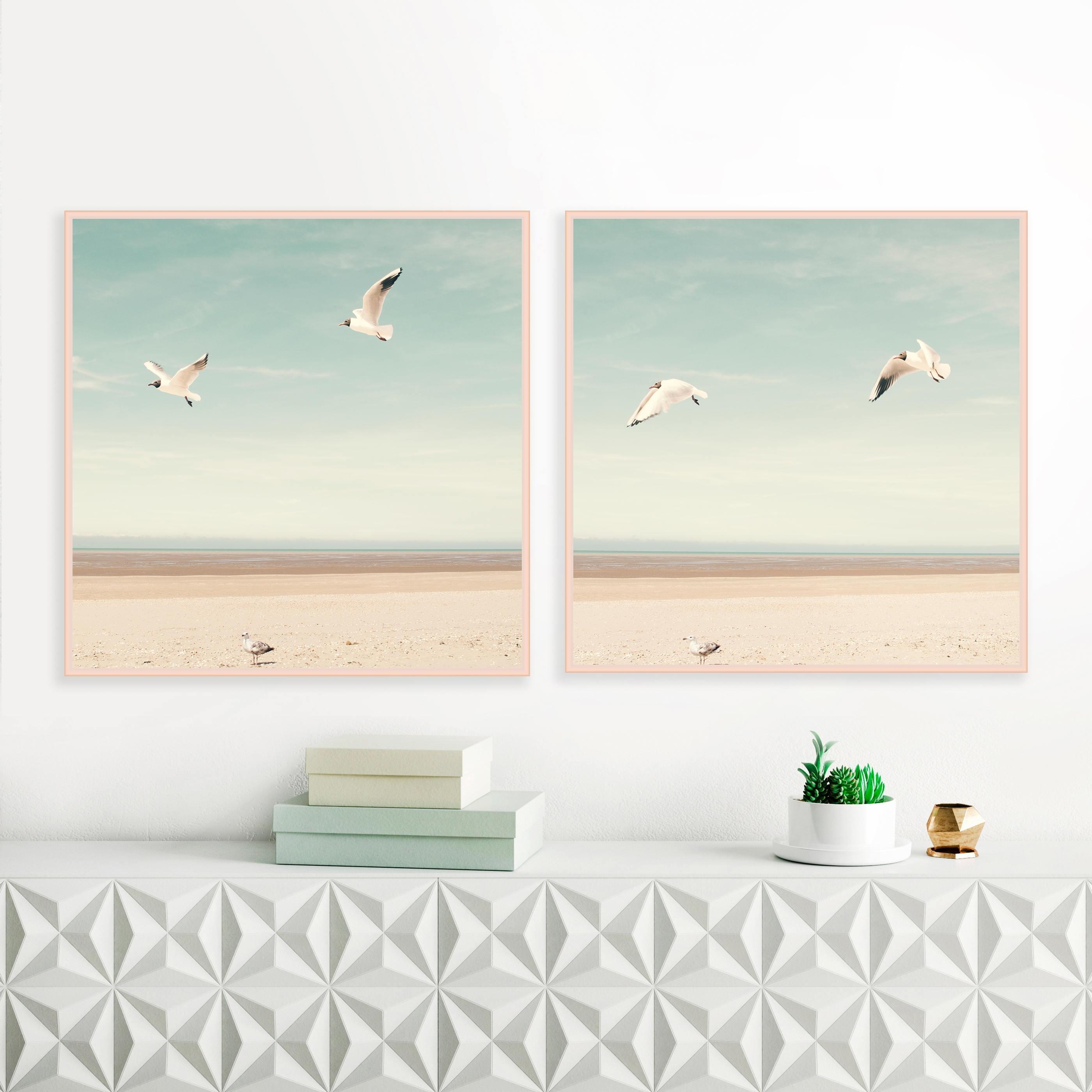Coastal Wall Art Within Famous Bird Prints, Beach Photography, Beach Wall Art, Sea Gulls (View 6 of 15)