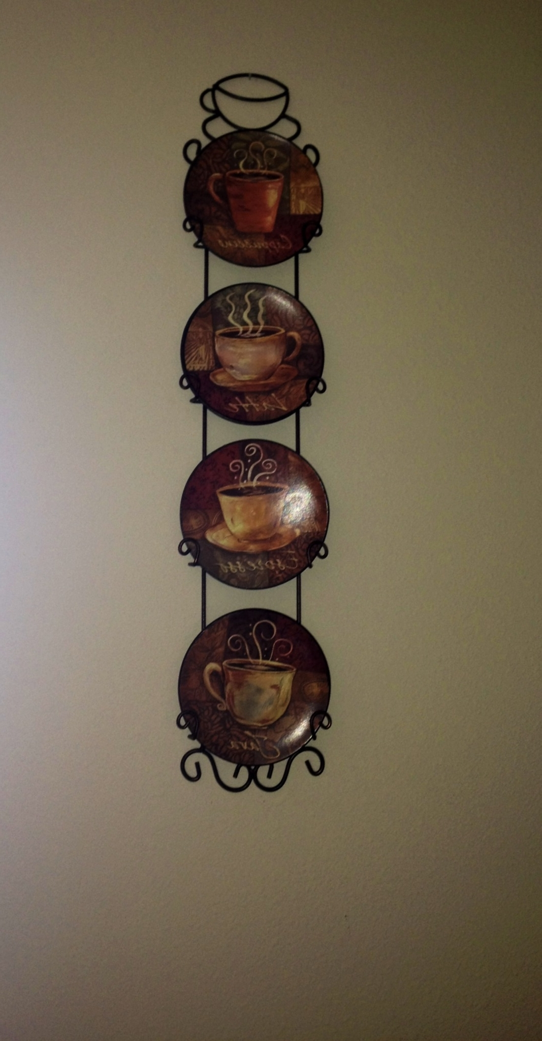 Coffee, Coffee Art And Walls For Metal Wall Art Coffee Theme (View 6 of 15)