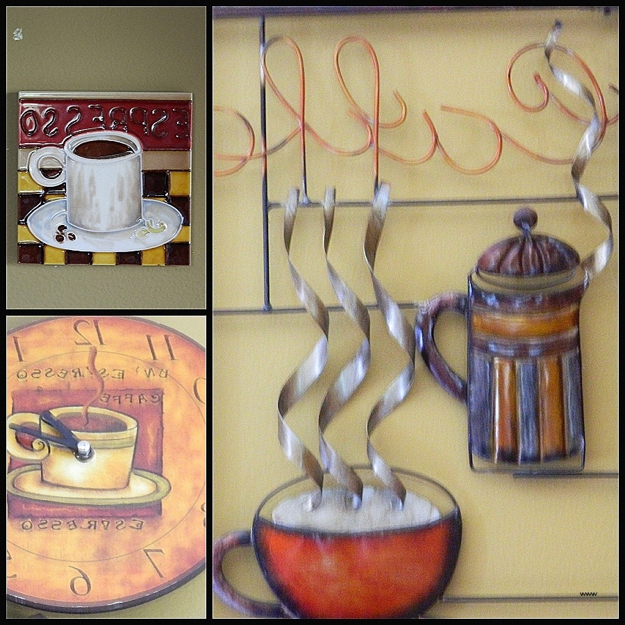 15 Best Collection Of Coffee Theme Metal Wall Art