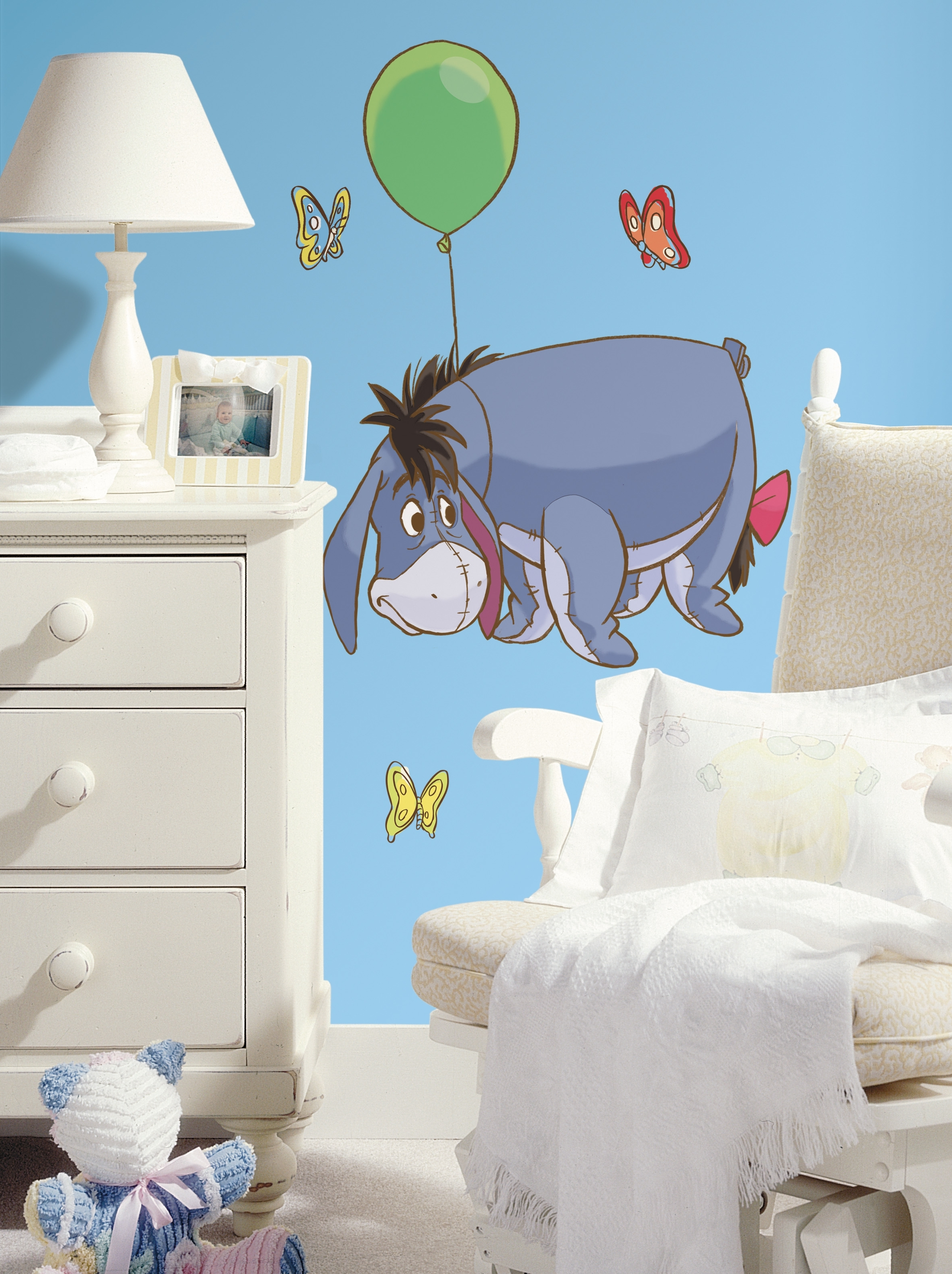 Colorful Kids Rooms Inside Winnie The Pooh Wall Decor (View 3 of 15)