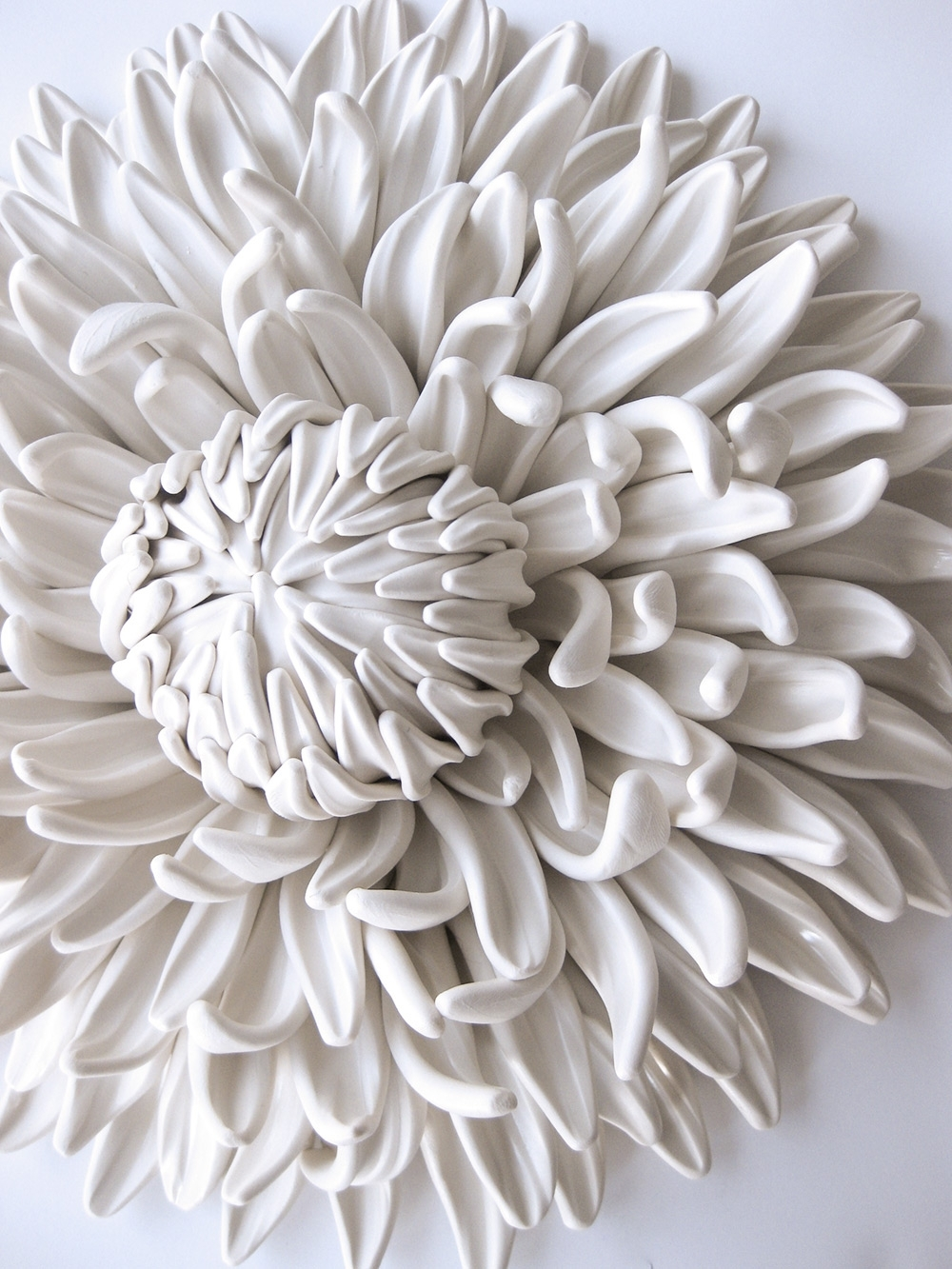 Colossal For Ceramic Flower Wall Art (View 5 of 15)