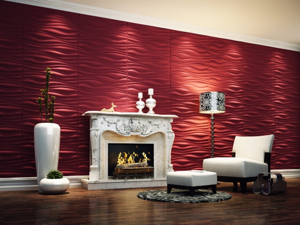 Contemporary 3d Wall Panels Design – Best House Design Inside Favorite 3d Wall Covering Panels (View 7 of 15)