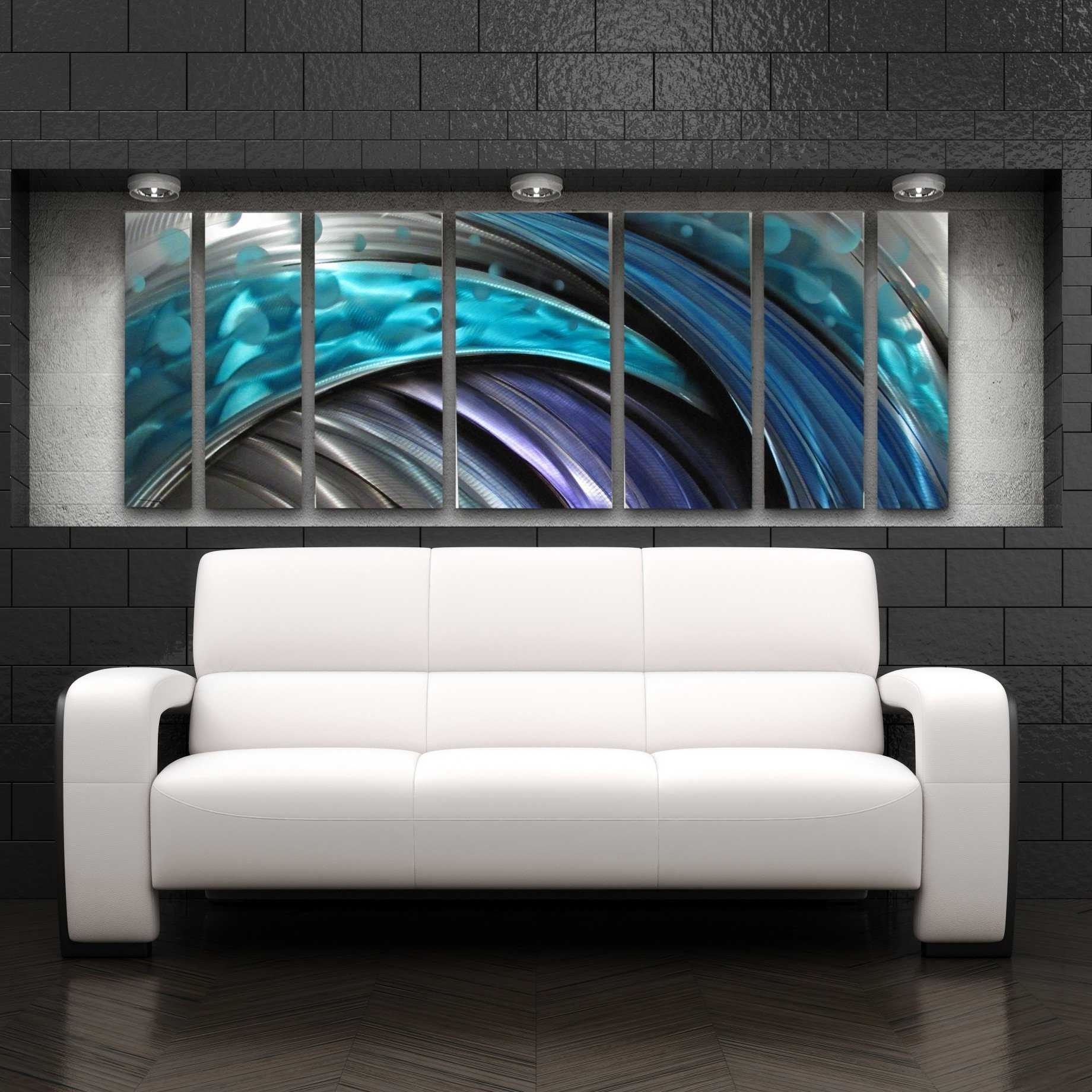 Contemporary Abstract Wall Art Throughout Recent Modern Metal Wall Art Typhoon Large Modern Abstract Metal Wall (Gallery 10 of 15)
