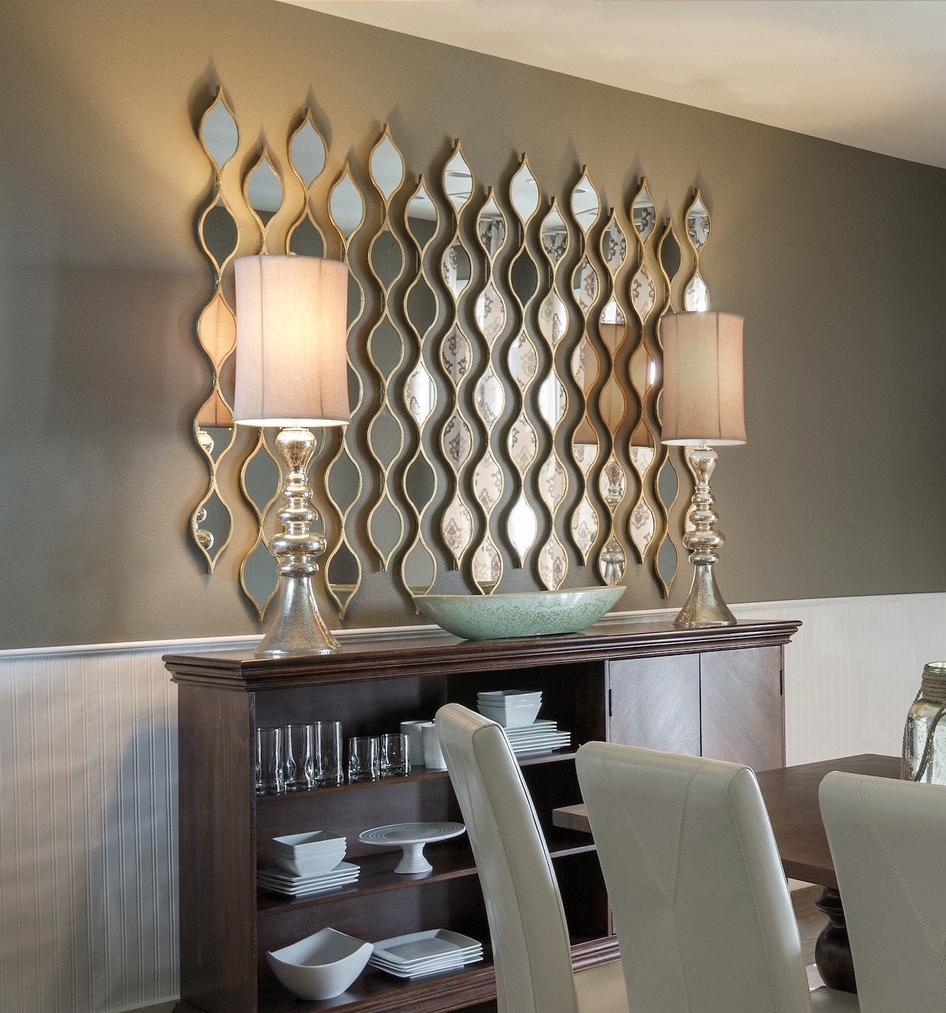 Contemporary Mirror Wall Art In Well Known Gold Teardrop Mirror (View 2 of 15)