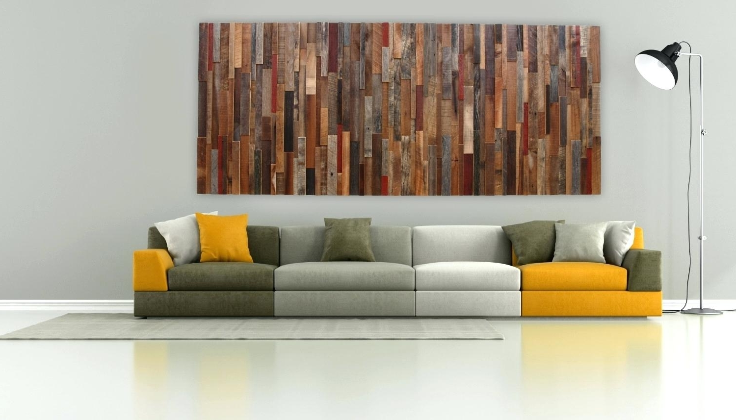 Contemporary Oversized Wall Art In Most Recently Released Decoration: Diy Wood Wall Art Great Oversized Contemporary About (View 3 of 15)