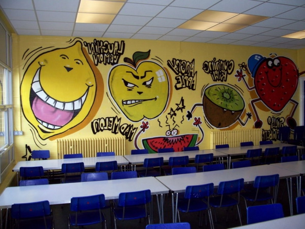 Cool Fruit Wall Murals For Kindergarten Classroom Picture Best With Regard To Well Known Wall Art For Kindergarten Classroom (View 4 of 15)
