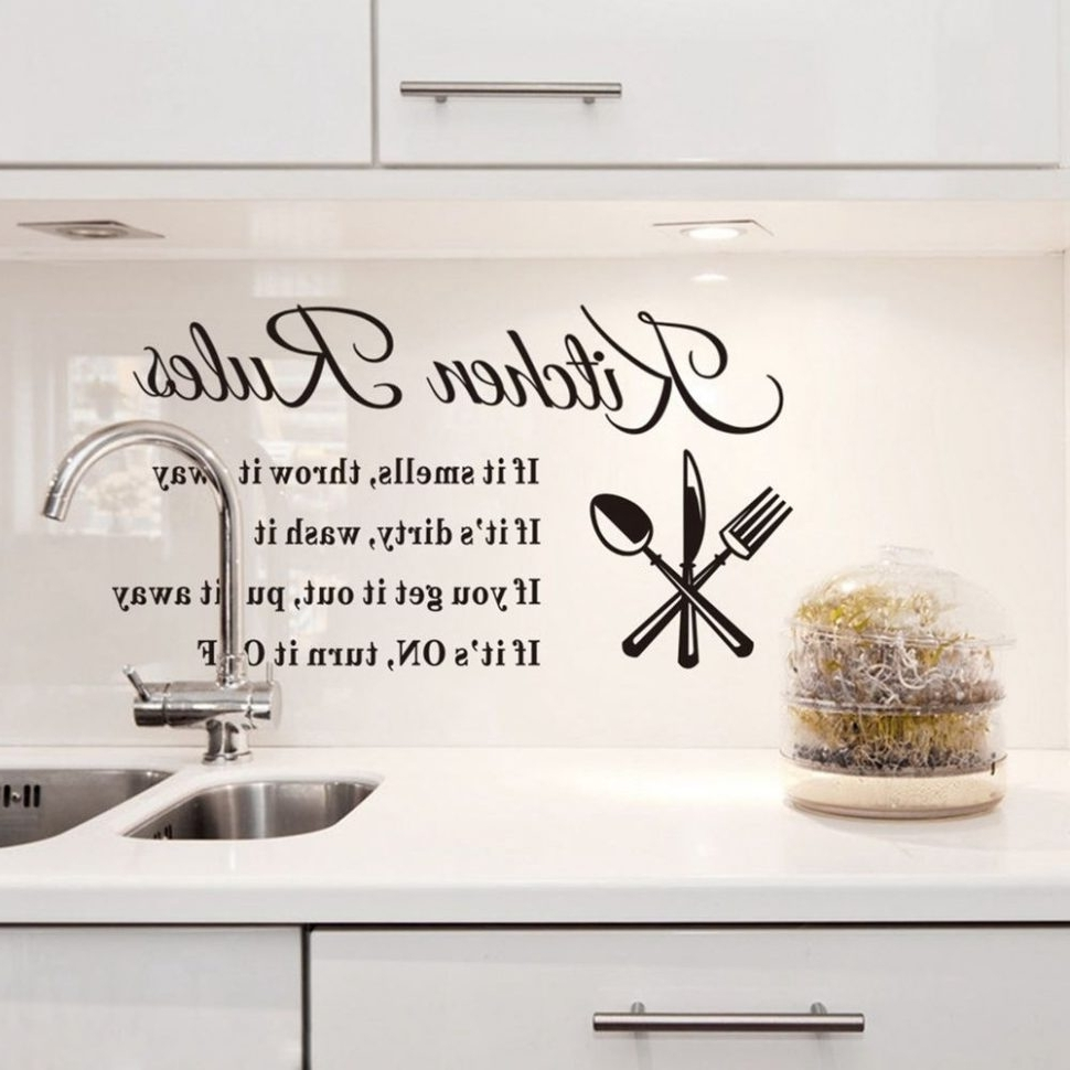 Cool Kitchen Wall Art With Most Popular Kitchen Backsplashes : Cool Kitchen Decor Buy Wall Decor Wall Art (View 12 of 15)