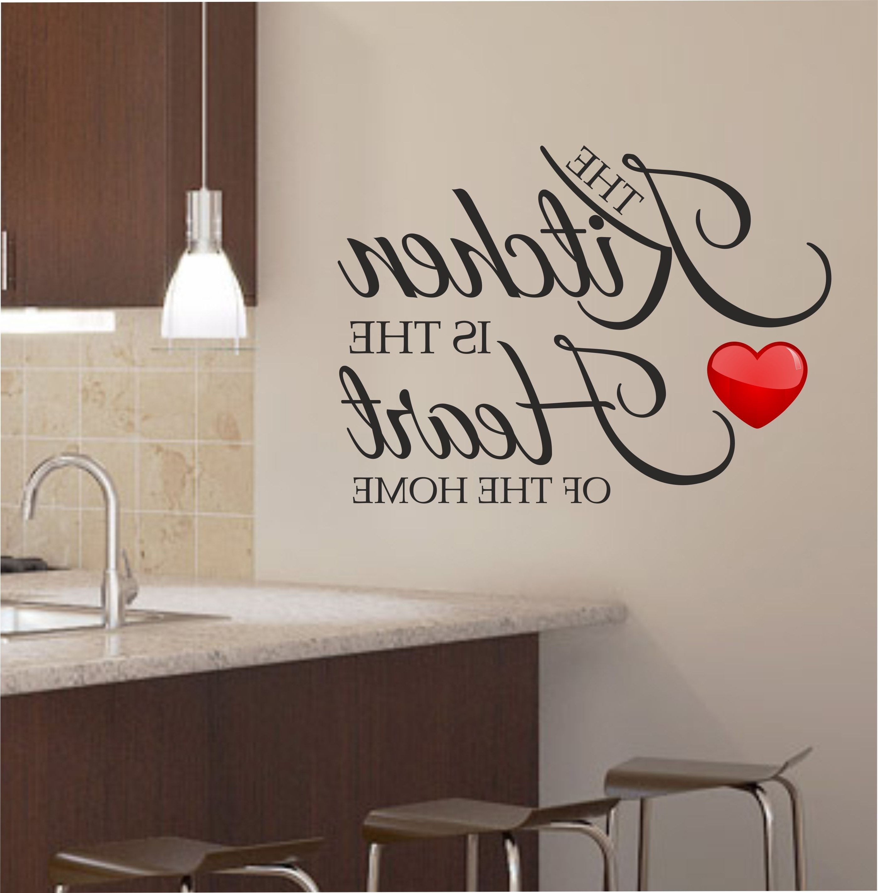 Cool Kitchen Wall Art With Regard To Latest Decorate Your Kitchen With Appealing Kitchen Wall Art – Designinyou (View 3 of 15)