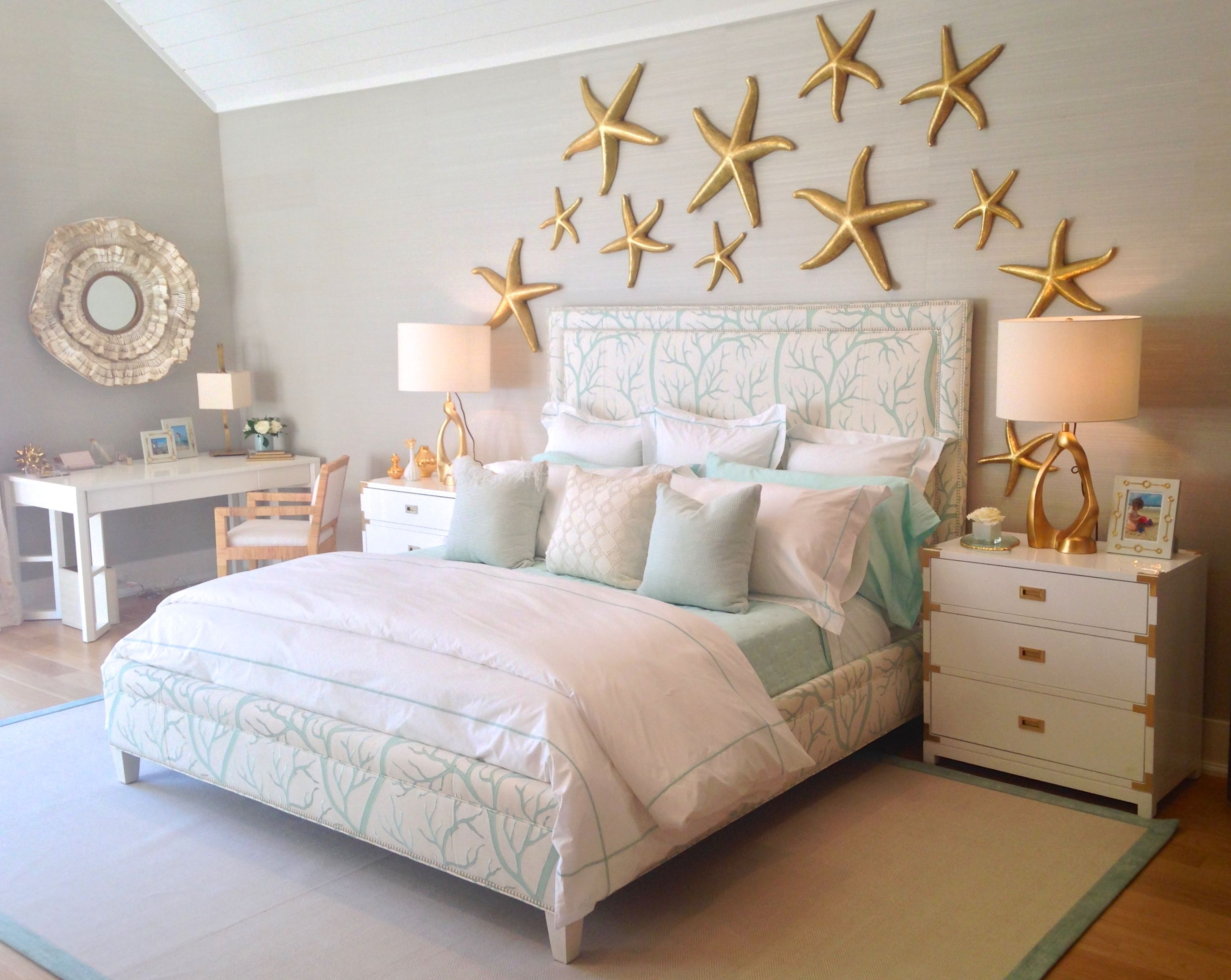 Coral Print Regarding Beach Wall Art For Bedroom (View 13 of 15)
