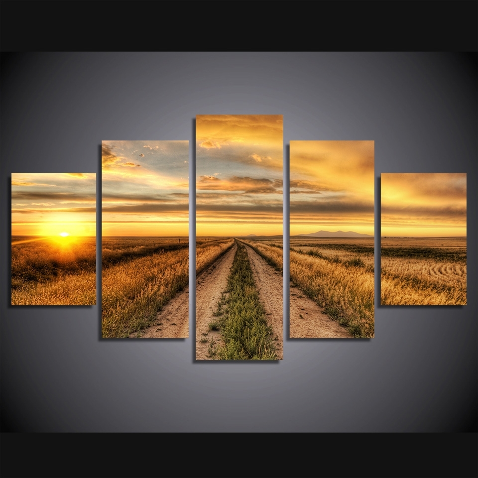 Country Canvas Wall Art With Regard To Recent Buy Farmed Painting Canvas And Get Free Shipping On Aliexpress (View 8 of 15)