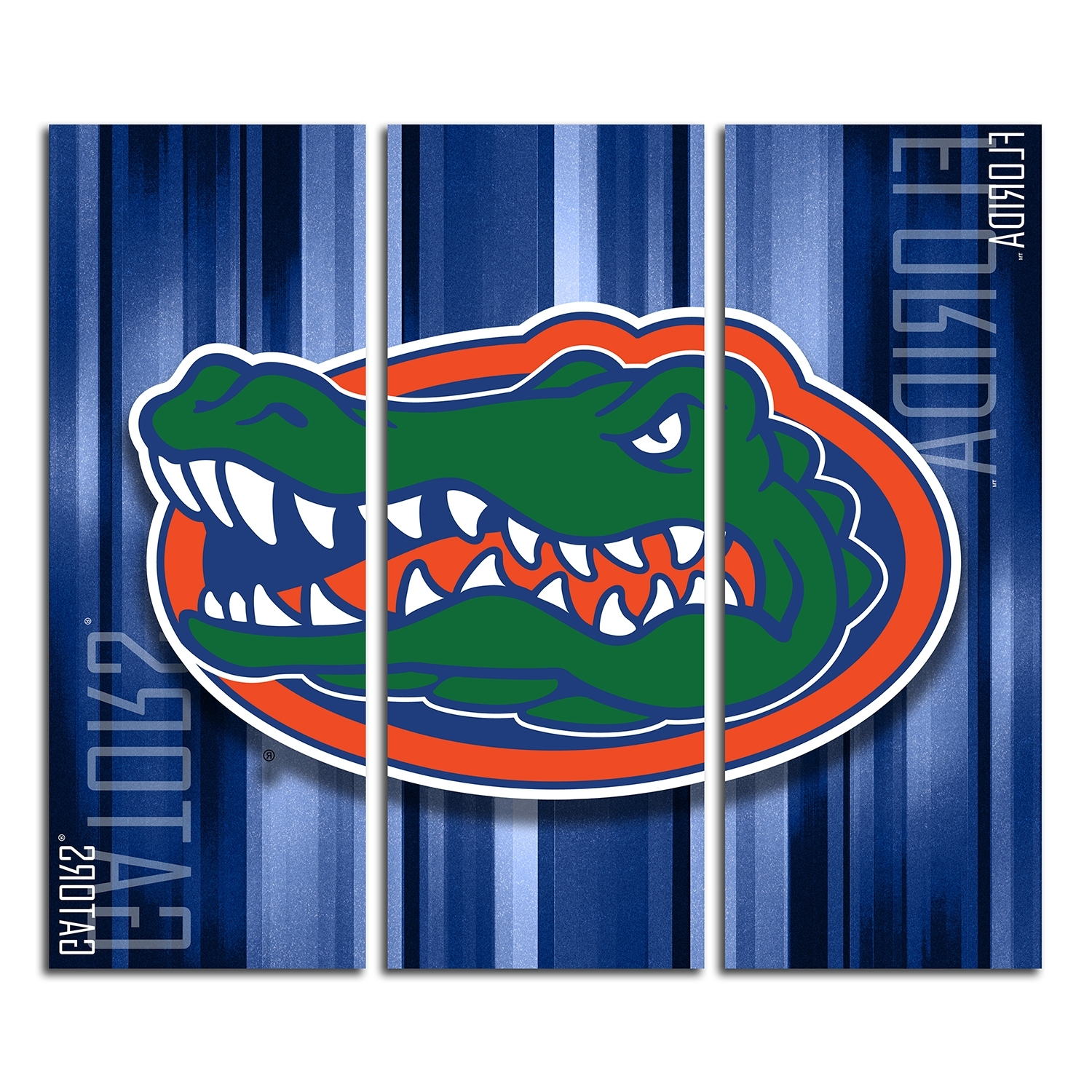 Cozy Design Florida Gator Wall Art Together With Gators Logo Decal Throughout Current Florida Gator Wall Art (View 2 of 15)