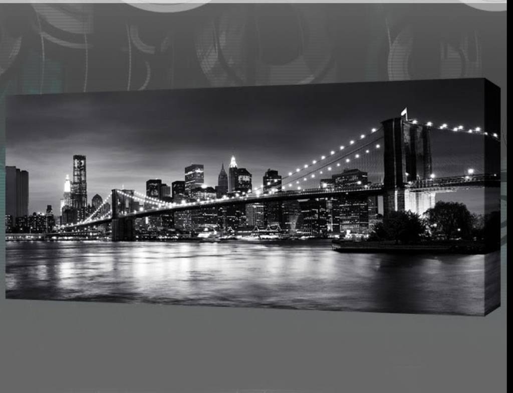 Cozy New York City Canvas Wall Art Together With Collection Of For Well Known New York 3D Wall Art (View 2 of 15)