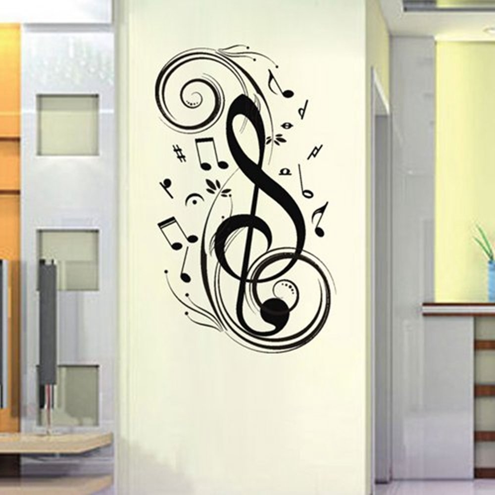 Creative Ideas For Music Note Wall Art Decor (View 14 of 15)