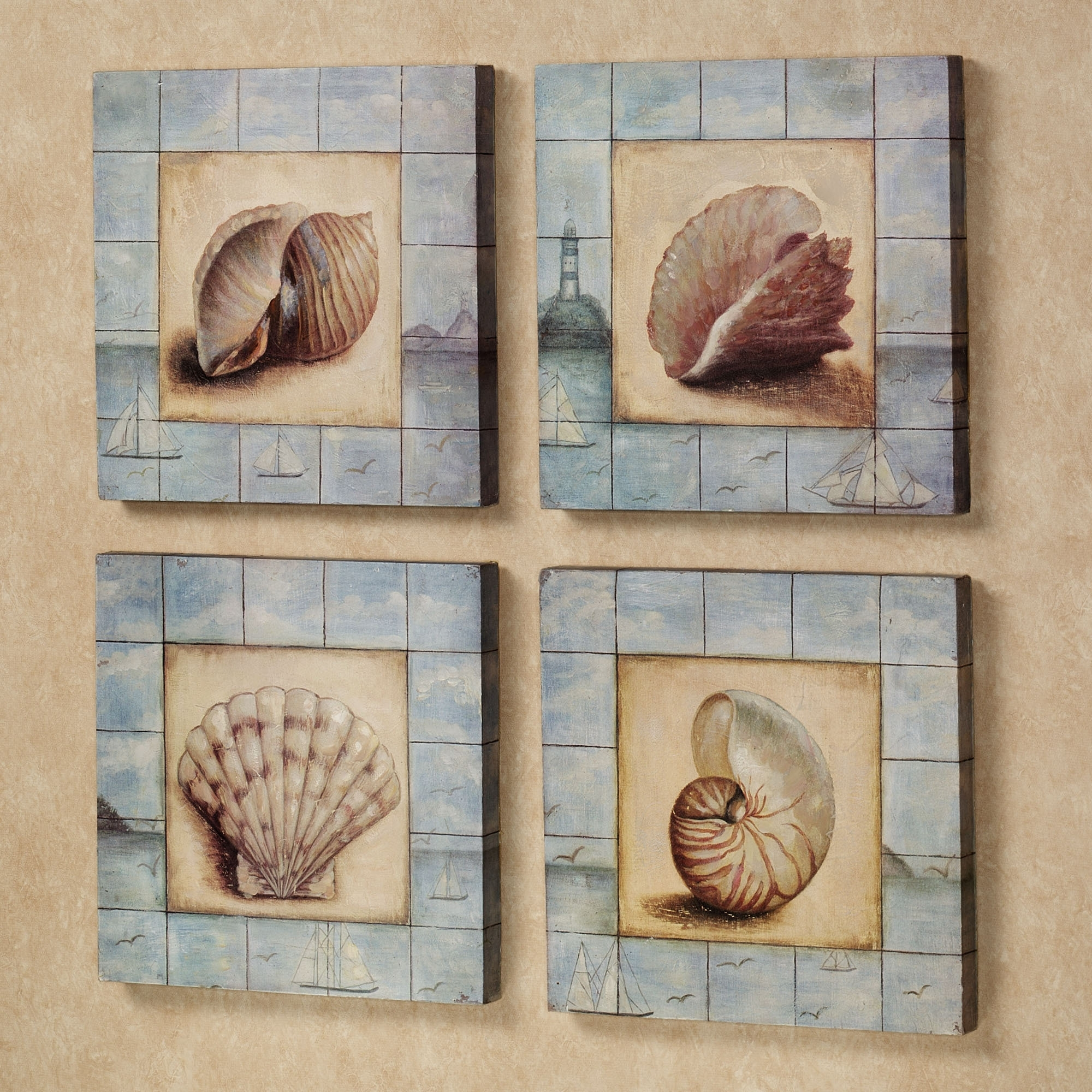 Creative Ideas Inside Current Wall Art With Seashells (View 2 of 15)